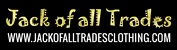 Jack of all Trades Clothing Coupon Codes January 2018
