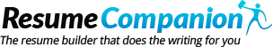 Resume Companion Coupon Codes September 2017