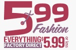 599 Fashion Promo Code May 2018